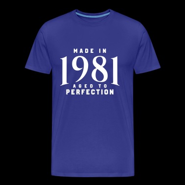 MADE IN 1981 - Premium-T-shirt herr