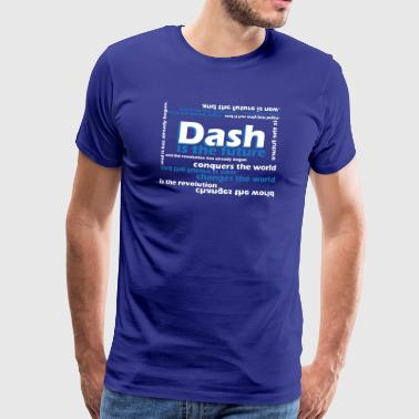 DASH - is the future - Men's Premium T-Shirt