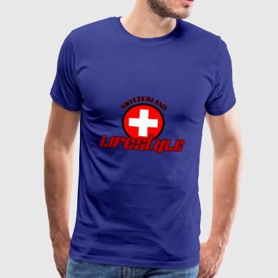 Switzerland lifestyle - Men's Premium T-Shirt