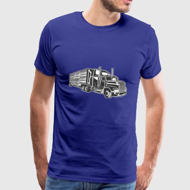 Shirt Gift Monster Truck - Mannen Premium T-shirt