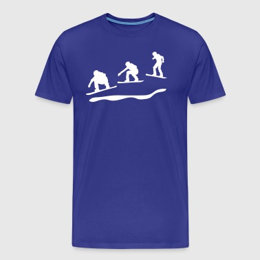 Snowboard cross - Men's Premium T-Shirt