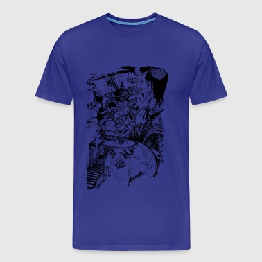MIND MIX - Premium-T-shirt herr