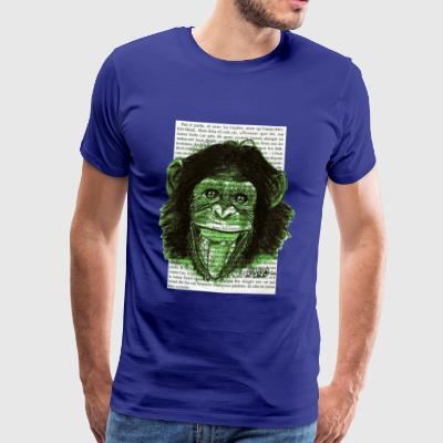GREEN MONKEY - Männer Premium T-Shirt