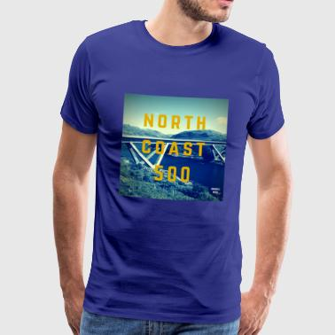 North Coast 500 - Herre premium T-shirt