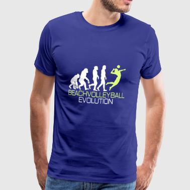 Evolution - Beach volley regalo T-shirt - Maglietta Premium da uomo