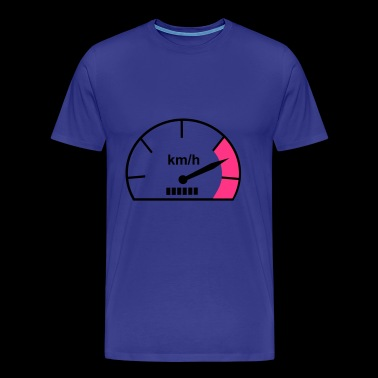 2541614 14792407 speedometer - Men's Premium T-Shirt