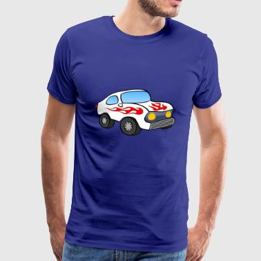 STOCK-CAR - Premium-T-shirt herr