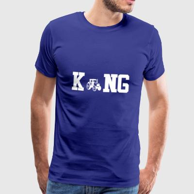 King kings master farmer png - Men's Premium T-Shirt
