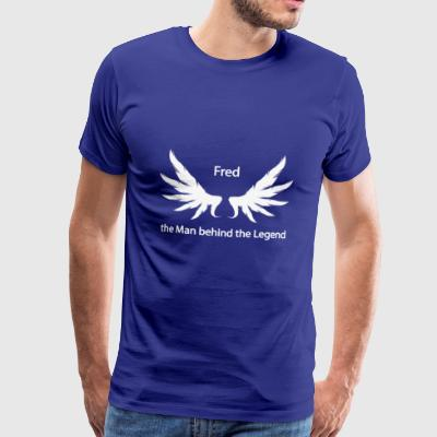 Fred the Man behind the Legend - Men's Premium T-Shirt