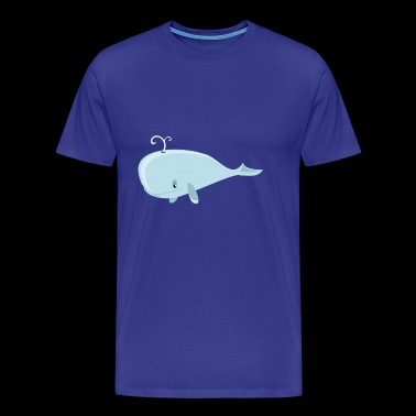 Bori the whale - Men's Premium T-Shirt