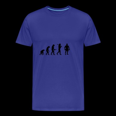 boxing evolution progress development - Men's Premium T-Shirt