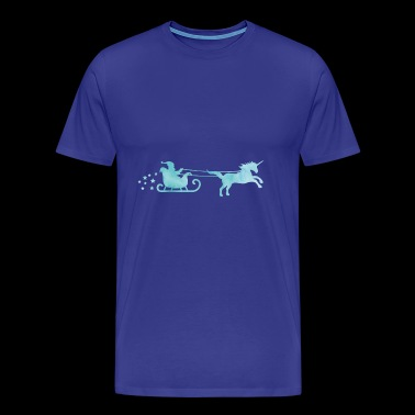 Christmas Unicorn stars - Men's Premium T-Shirt