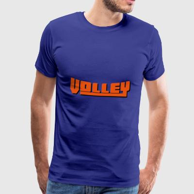 2541614 15081086 volley - Men's Premium T-Shirt