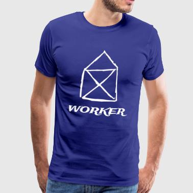 worker - Men's Premium T-Shirt
