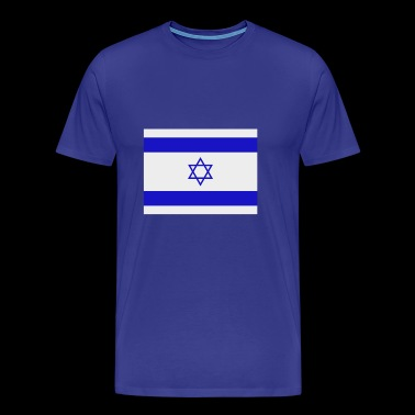 israel flag - Men's Premium T-Shirt