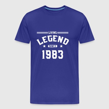 Levande legend sedan 1983 - Premium-T-shirt herr