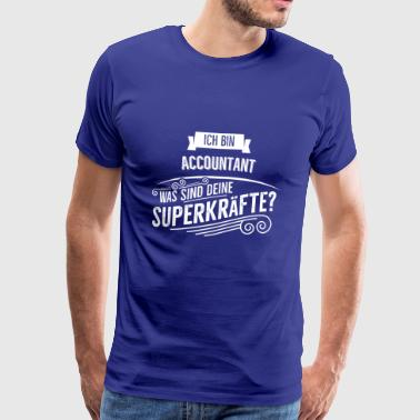 Accountant - Männer Premium T-Shirt
