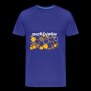 motiveren - Mannen Premium T-shirt