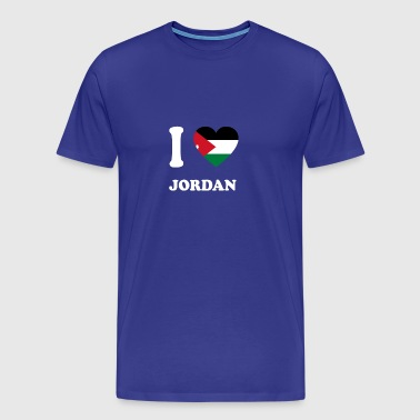 i love home gift country JORDAN - Men's Premium T-Shirt
