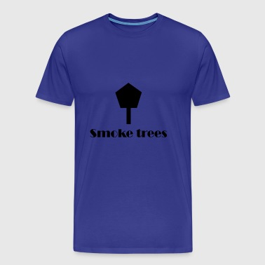 Smoke Trees - Men's Premium T-Shirt