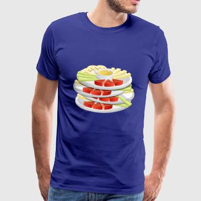 cheese cheese pizza sandwich mouse mouse food99 - Men's Premium T-Shirt