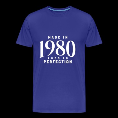 MADE IN 1980 - Premium-T-shirt herr