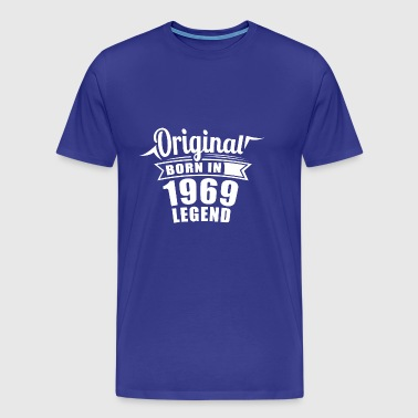 1969 Original Gift Birthday - Men's Premium T-Shirt