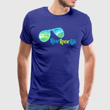 La vie en direct amour - T-shirt Premium Homme