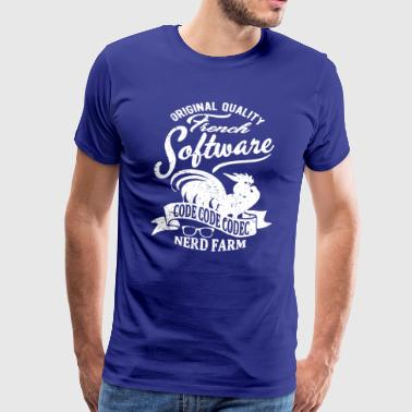 Fransk software - Herre premium T-shirt