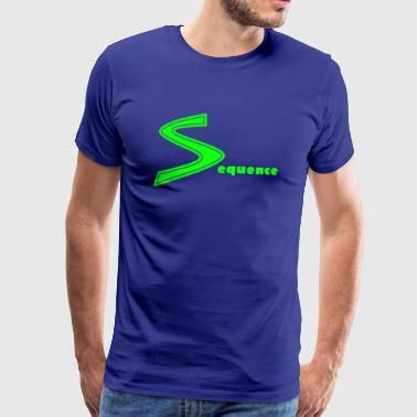 Sequence green - Männer Premium T-Shirt