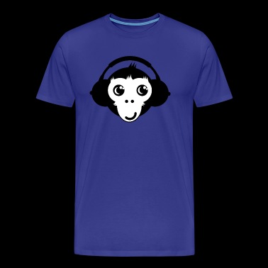 Monkey Headset - Men's Premium T-Shirt