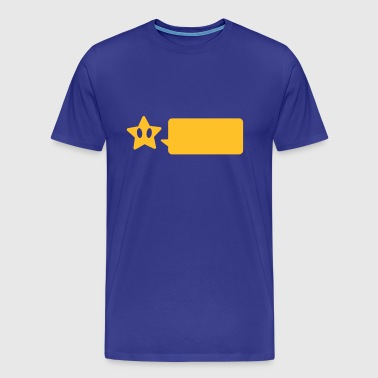 STAR SAYS - Herre premium T-shirt