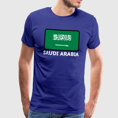 National Flag Of Saudi Arabia - Premium-T-shirt herr
