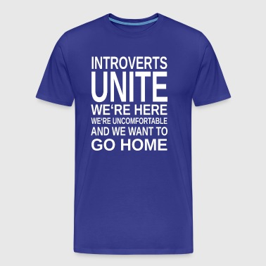 ++ ++ Introverte Unite - Herre premium T-shirt