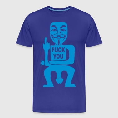 fuck you - Men's Premium T-Shirt