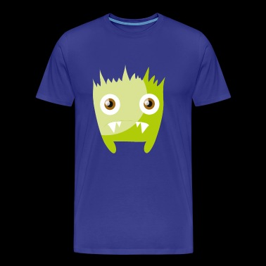 Bastian - Green, dear monster - Men's Premium T-Shirt