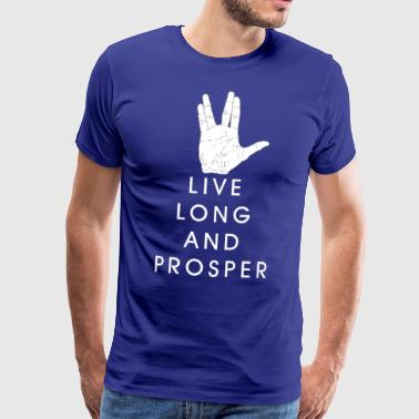 Live long and prosper - Men's Premium T-Shirt