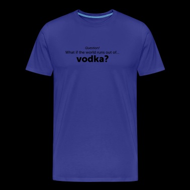 vodka - Herre premium T-shirt