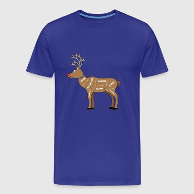 Reindeer Meat for Christmas - Men's Premium T-Shirt