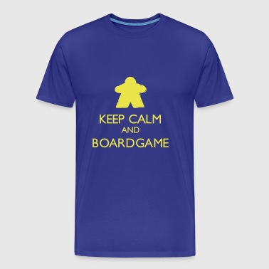 Keep Calm and Boardgame - Men's Premium T-Shirt