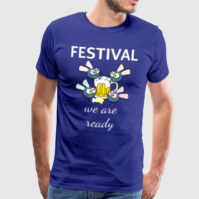 Fest ready - Men's Premium T-Shirt