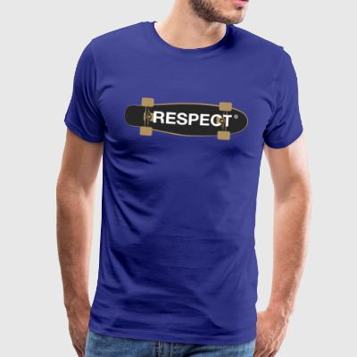 respect skateboard skater Demo erkenning fun lol - Mannen Premium T-shirt