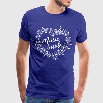 Music inside - Men's Premium T-Shirt