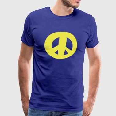 Peace sign - Symbol of Peace - Men's Premium T-Shirt
