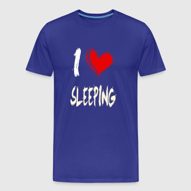 I love to sleep - Men's Premium T-Shirt
