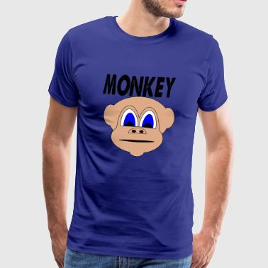 monkey 123 - Men's Premium T-Shirt