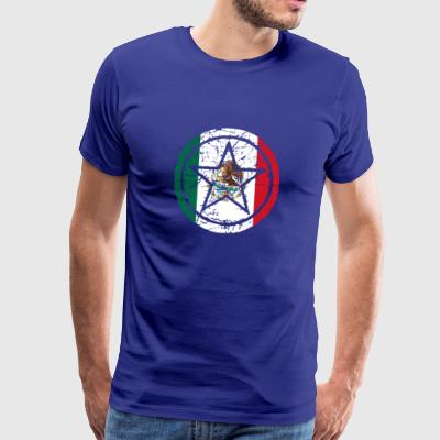 roots star heart love home Mexico png - Men's Premium T-Shirt