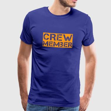 crew party mallorca malle jga booze bride member - Men's Premium T-Shirt