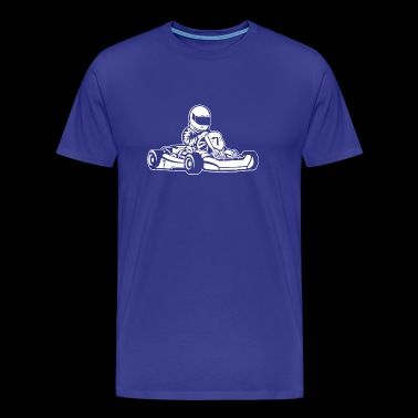 Go-Kart / Go-Cart 01_white - Men's Premium T-Shirt