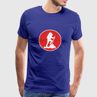 Gift hiking hike hiking - Men's Premium T-Shirt